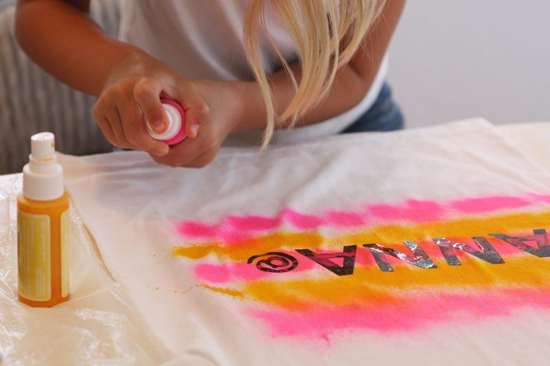 Find joy in the journey we made t shirts for Sei crafts tumble dye