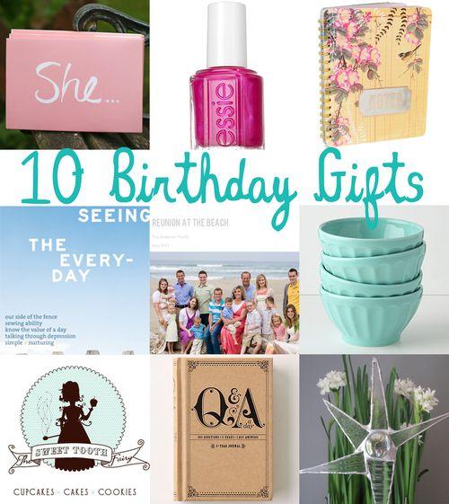 Birthdaygifts