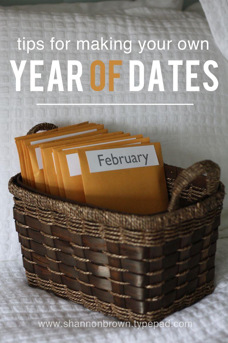 dates for parents 12 months