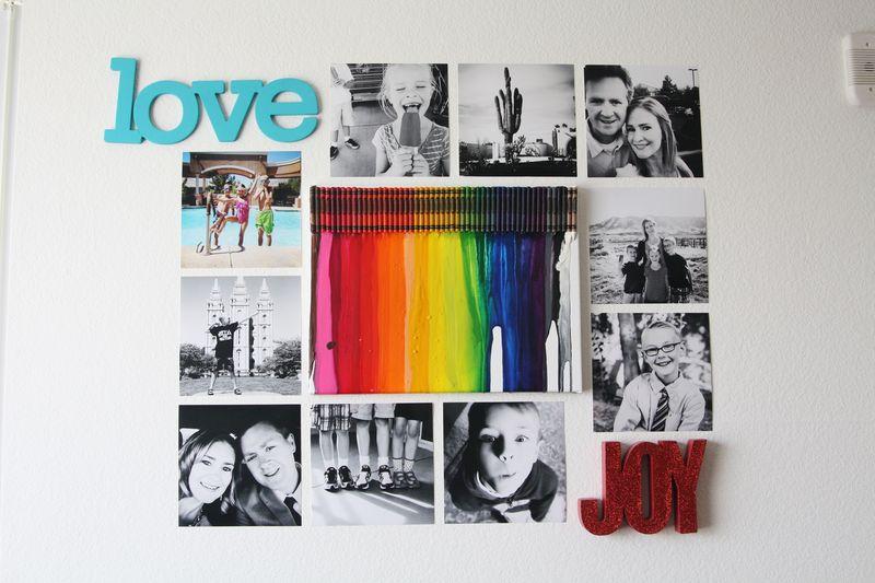 Apartment photo display