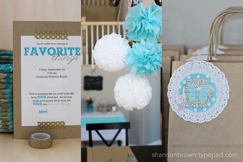 Favorite things party 2