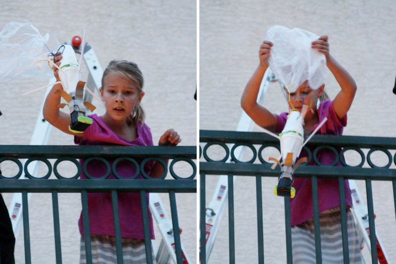 Egg drop party  |  find joy in the journey
