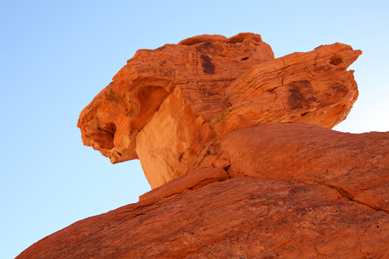 Valley of Fire Balancing Rock7