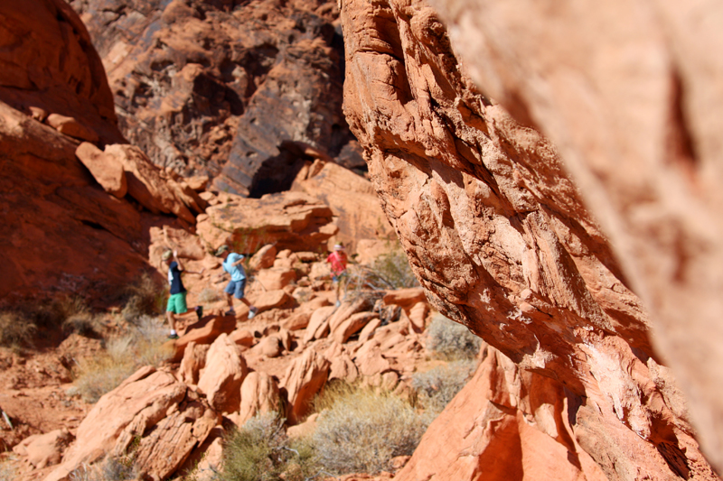 Valley of Fire Balancing Rock2