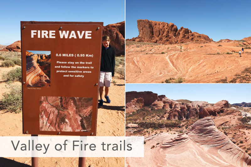 Valley of Fire Fire Wave Trail