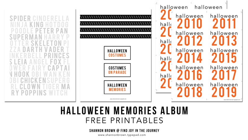 Halloween Memories Album 12