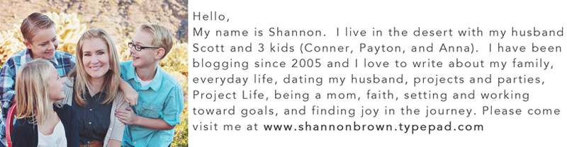 Shannon Introduction