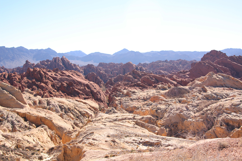 Valley of Fire Fire Canyon1