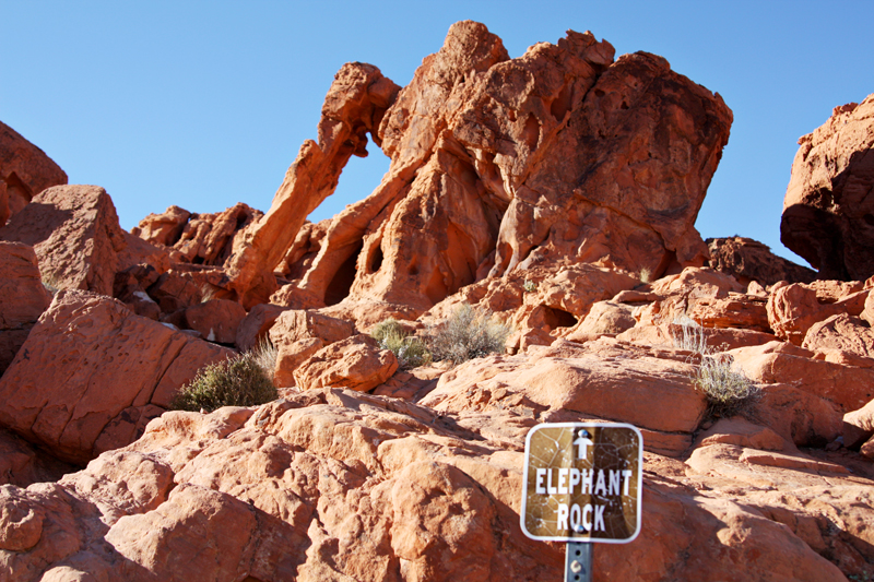 Valley of Fire Elephant Rock2