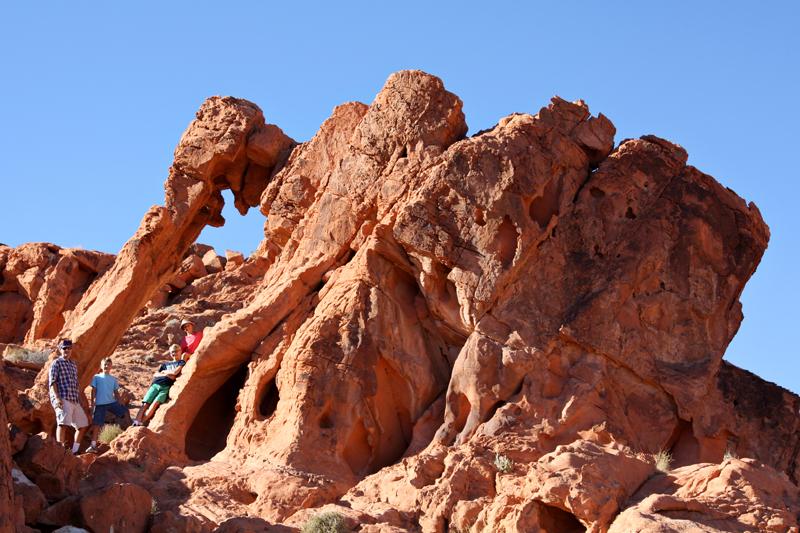 Valley of Fire Elephant Rock1