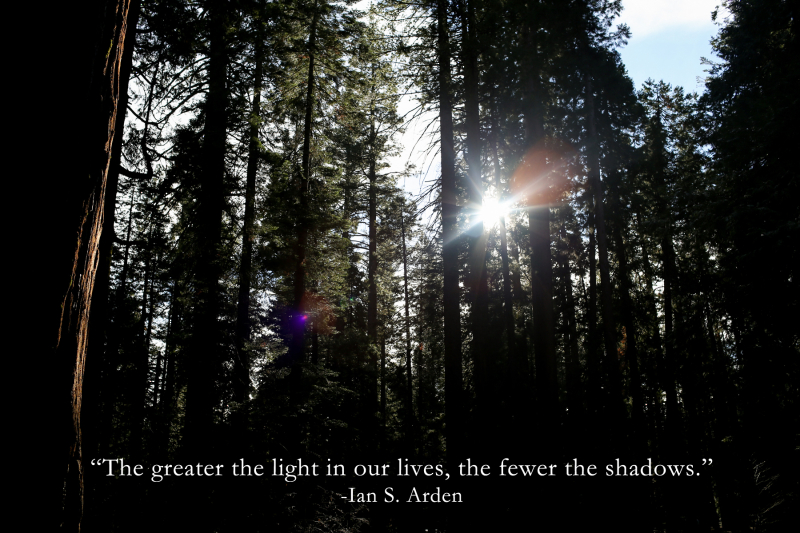 The greater the light