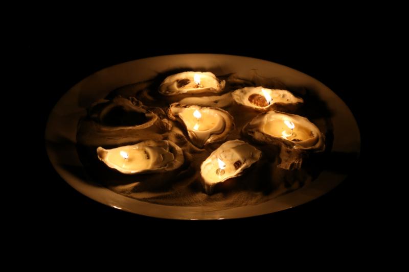 Diner en Blanc Oyster Candles-1