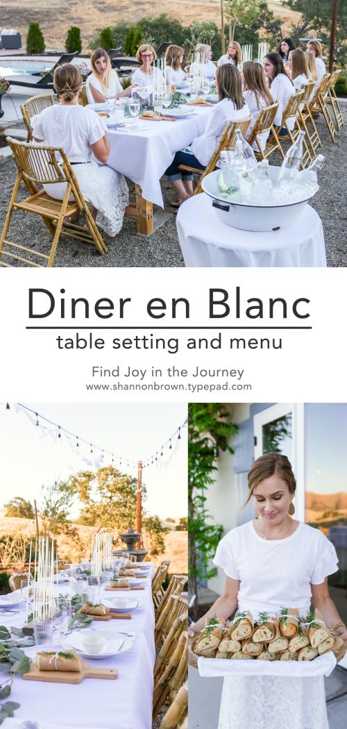 Diner en Blanc Pinterest