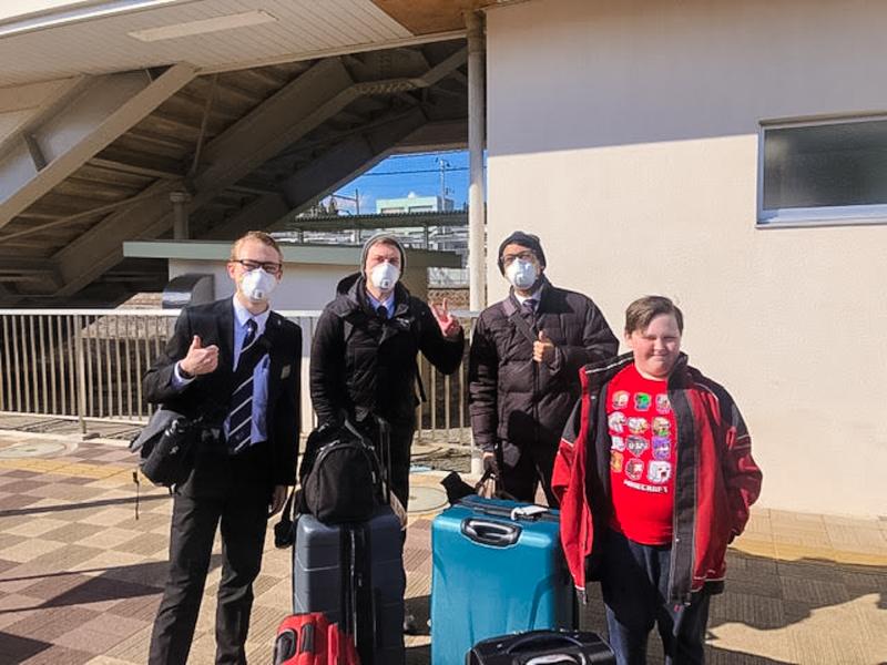Leaving Japan-1