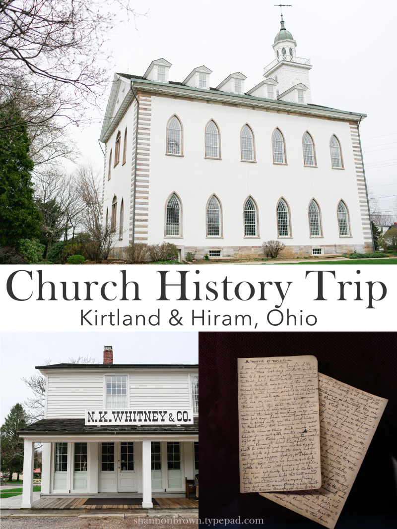 Church History Trip Kirtland